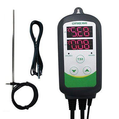 heat cool temperature controller long short sensor