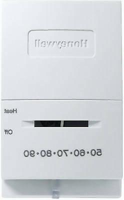 Honeywell Home/Bldg Center CT50K1002/E1 Heat Only Manual The