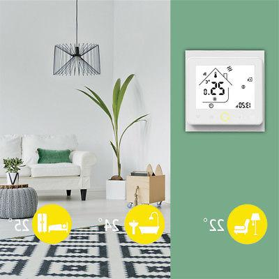 Home Digital Thermostat Floor Temperature Controller Use