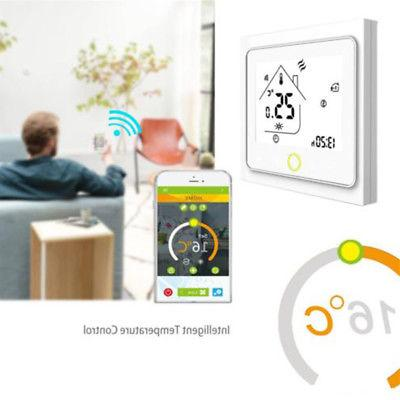 home digital lcd thermostat floor wall heating