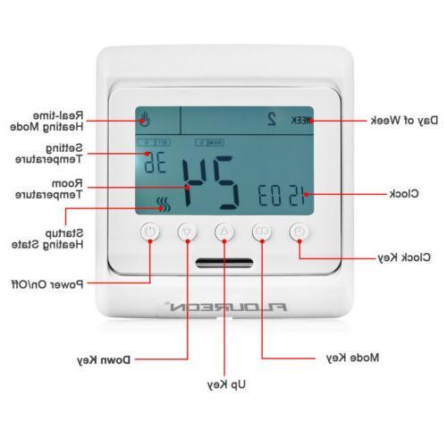 Home LDC Temperature Controller Heating Thermostat Extra Sensor