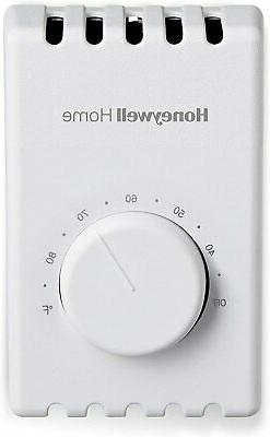 Honeywell Home Manual 4 Wire Premium Baseboard/Line Volt The