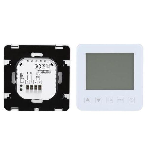 Home Programmable Smart Thermostat LCD Temperature