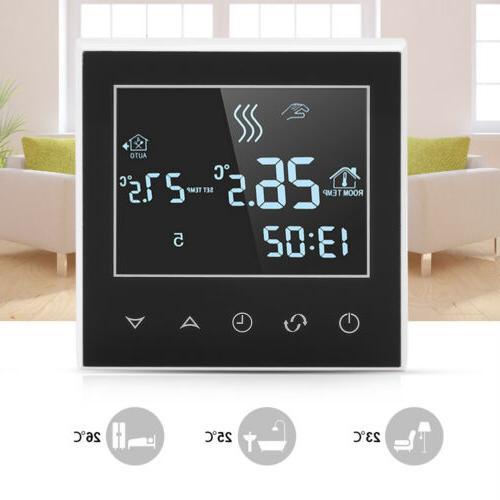 home programmable smart wifi wireless digital thermostat