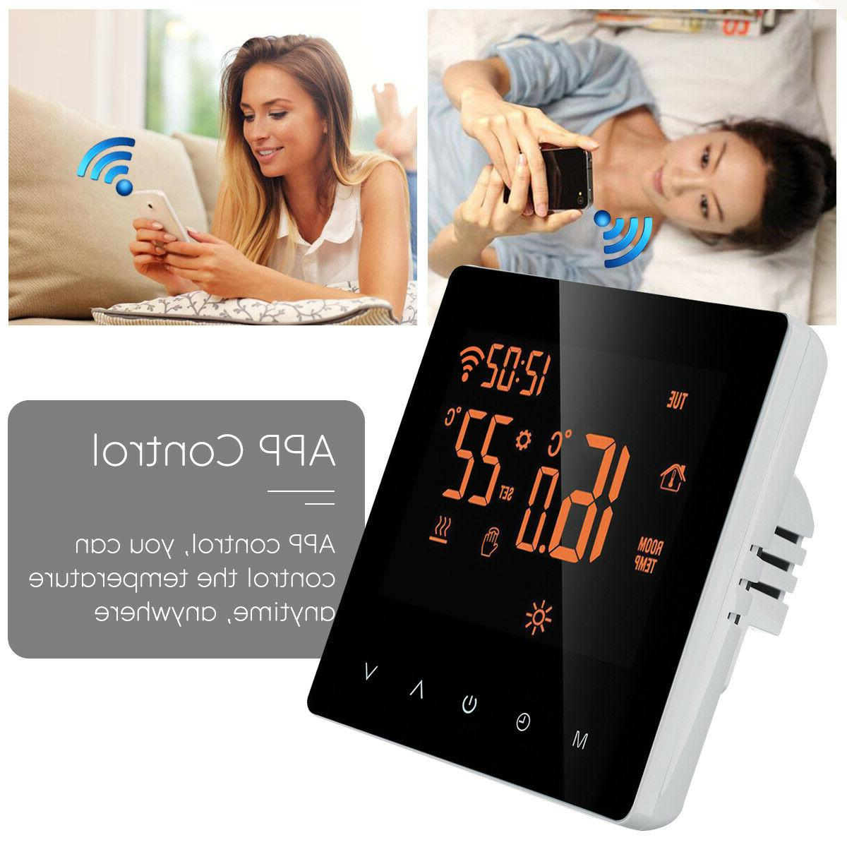 App Control Home Programmable Heated Wifi Digital LCD