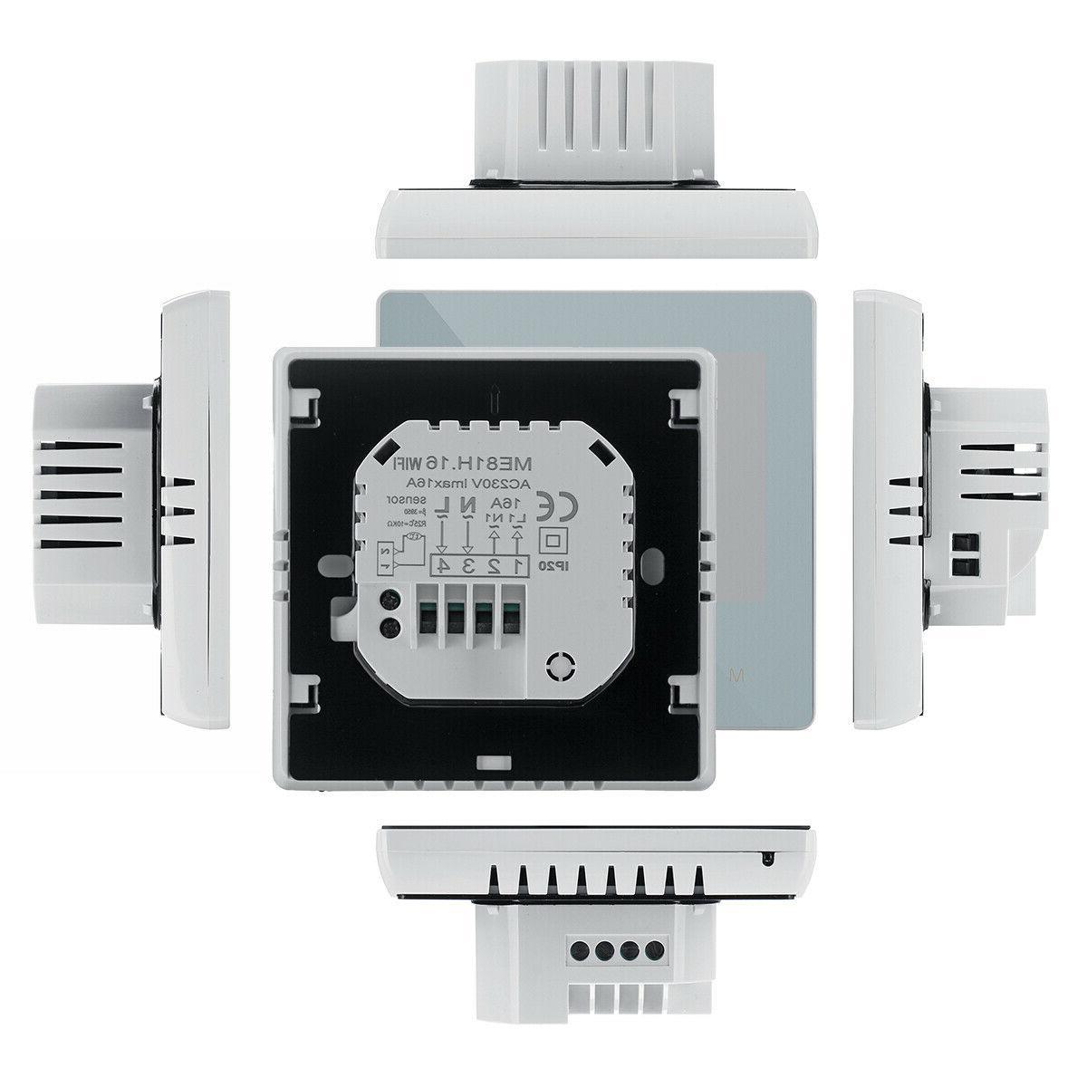 Home Programmable Wifi Heated Digital LCD Screen