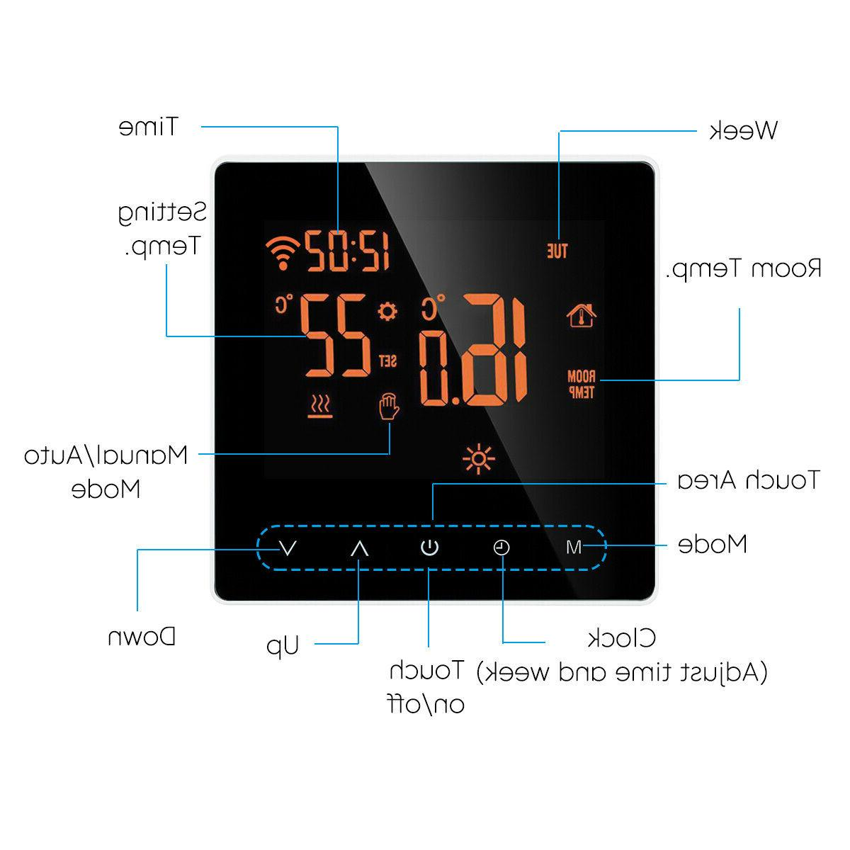App Home Heated LCD Wireless