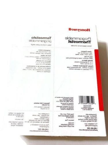 Honeywell RTH221B 1-Week Basic Thermostat $19.95
