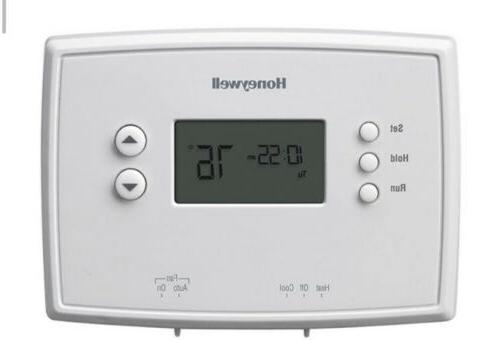 Honeywell RTH221B 1-Week Basic Programmable Thermostat $19.95