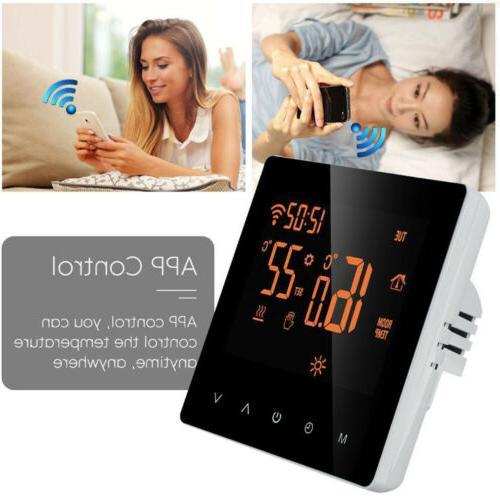 Home Wifi Wireless Heated Digital LCD Screen App