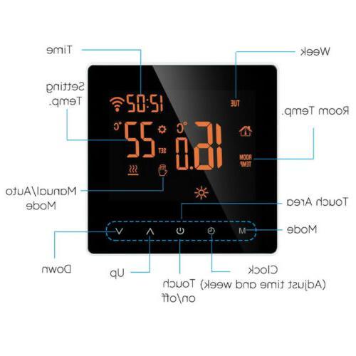 Home Smart Wifi Wireless LCD App