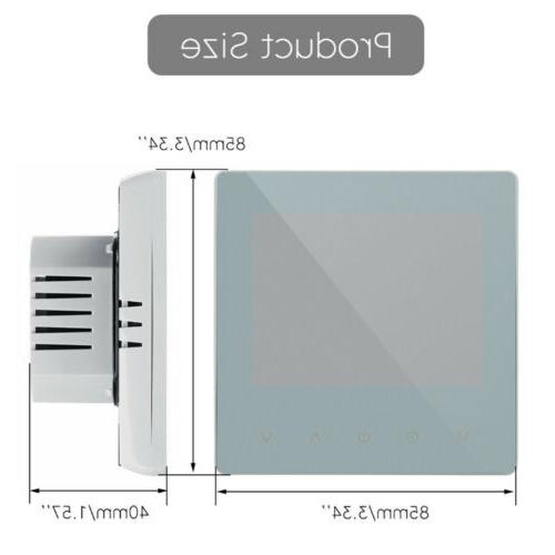 Home Wireless Heated Digital Thermostat LCD App