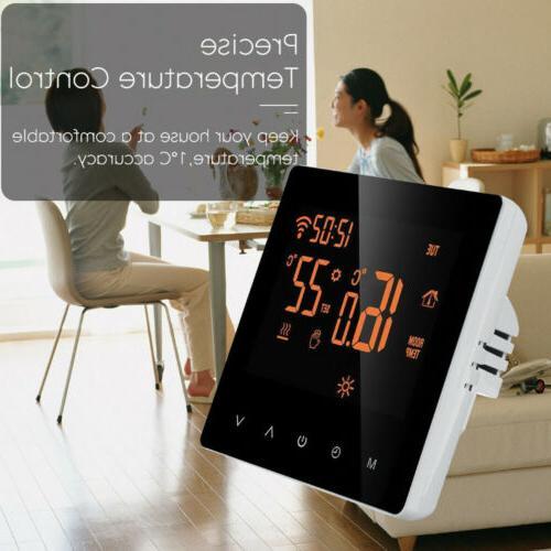Home Programmable Wireless Heated LCD Screen App