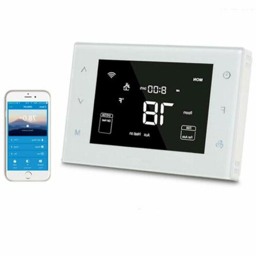 home smart wifi programmable multistage thermostat compatibl