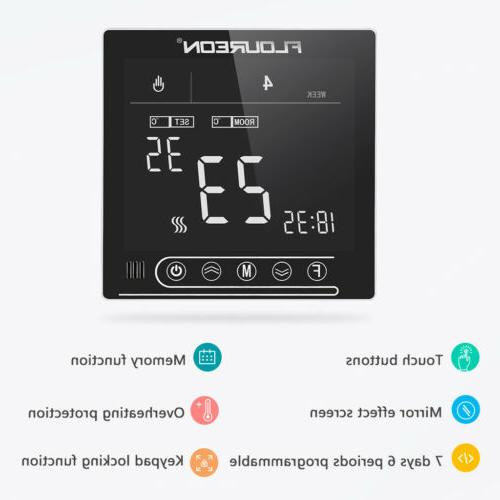 Home Smart Thermostat Digital Controller Remote