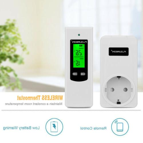 Home Smart WiFi Thermostat Digital Temp Controller Remote