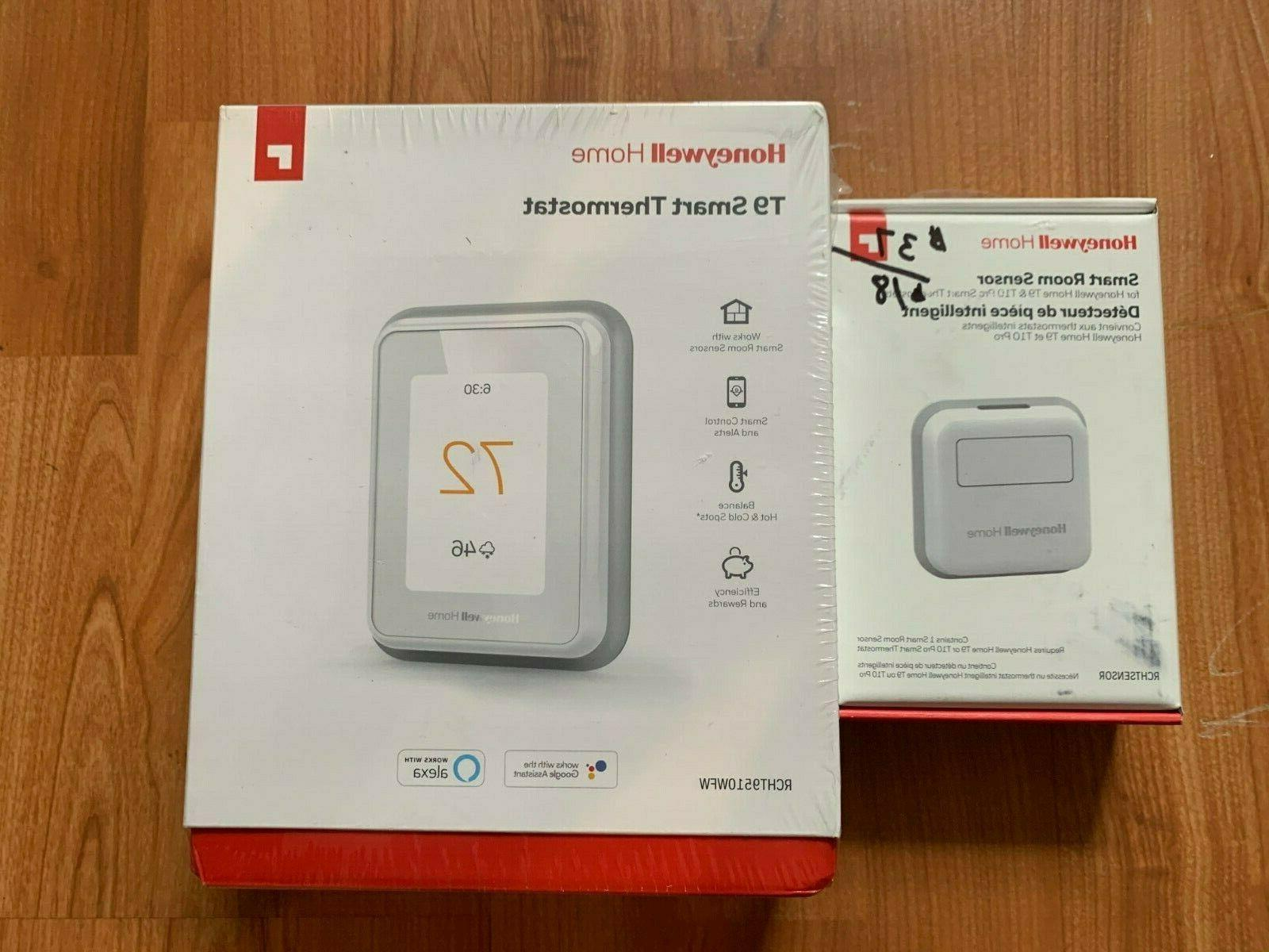 home t9 smart thermostat rcht9510wfw with sensor