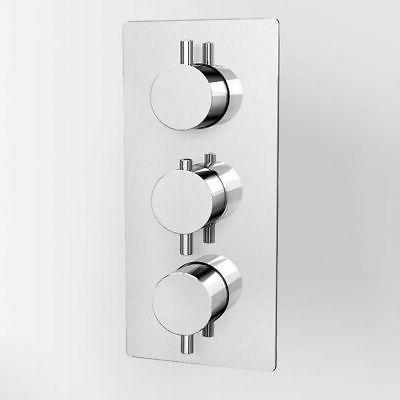home use thermostatic shower valve 3 outlets