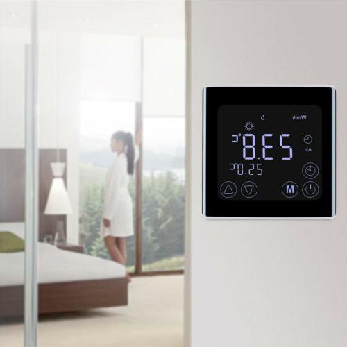 Digital Heating Thermostat Home Controller Screen