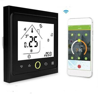 home wifi smart lcd room heating thermostat