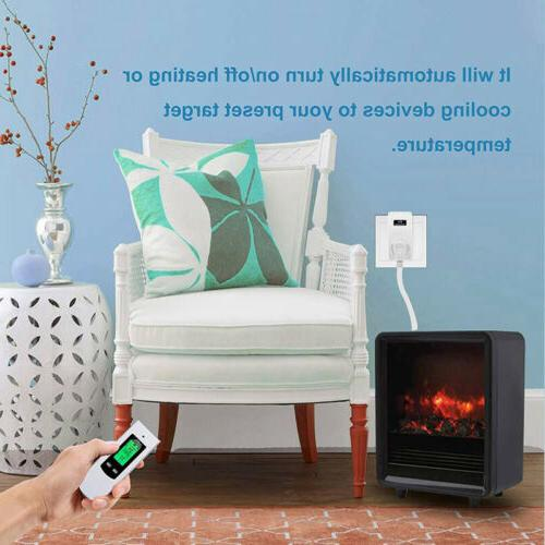 Home Wireless Plug In Temperature Controller US