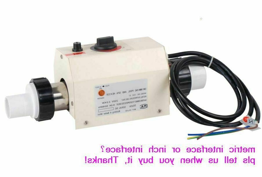 HOT 2KW water heater thermostat for home swimming pool &SPA