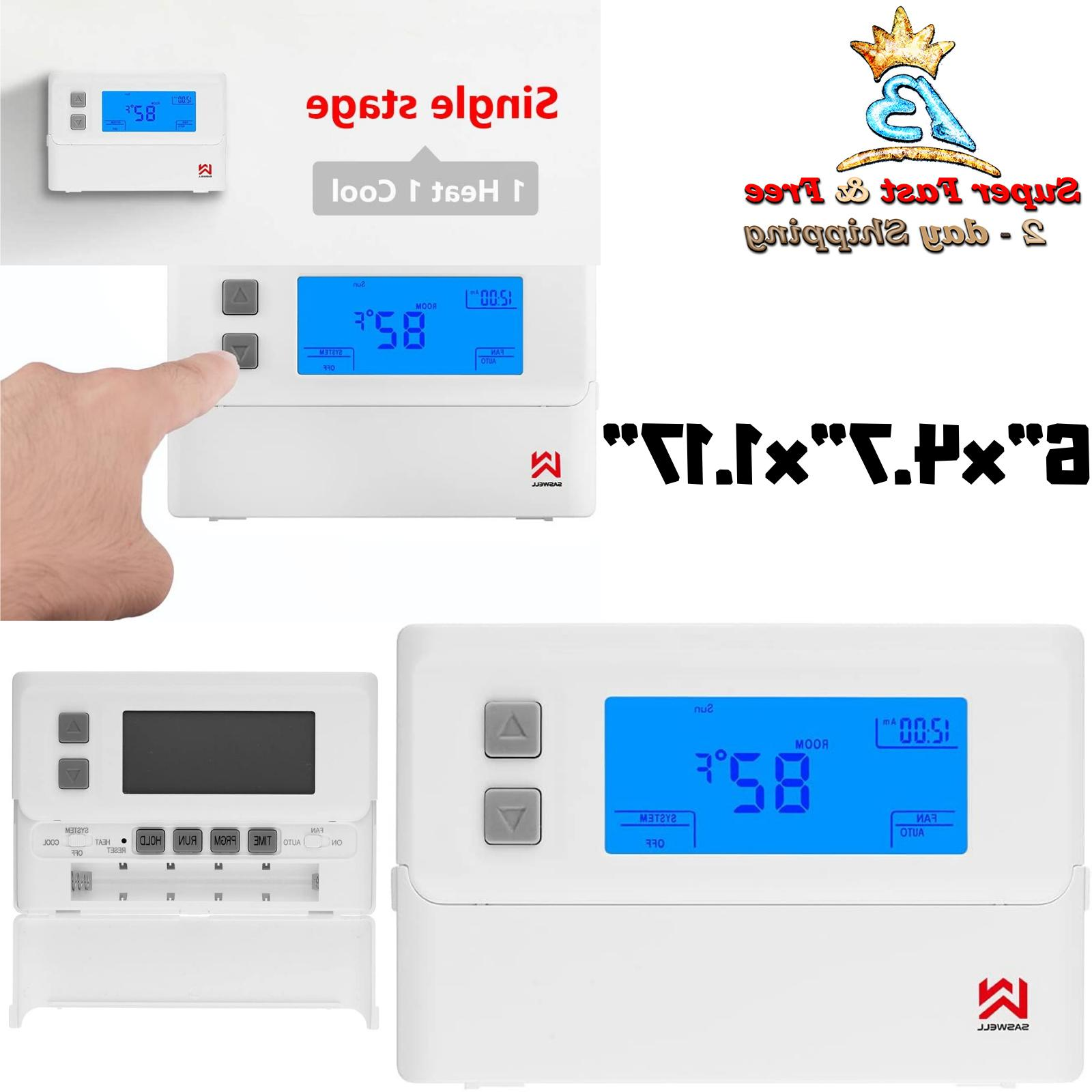 hvac thermostat with accurate temperature control large