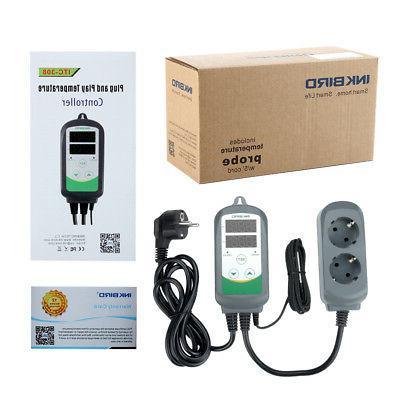 Inkbird ITC308 EU Plug Temperature Controller Digital Thermo