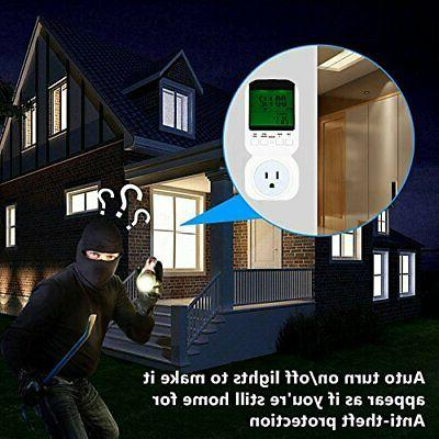Fly5D LCD Thermostat Temperature US Plug for
