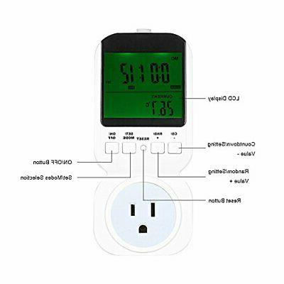 Fly5D LCD Display Thermostat Temperature Switch US