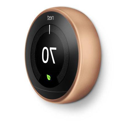 Nest Thermostat Gen Google Home & Wall