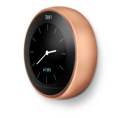 Nest Thermostat 3rd Gen Copper Google Wall Mo