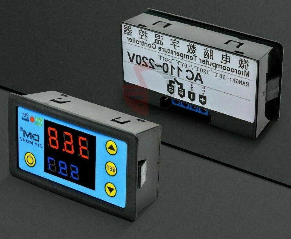 LED Display Digital Temperature Controller Regulator Accessories