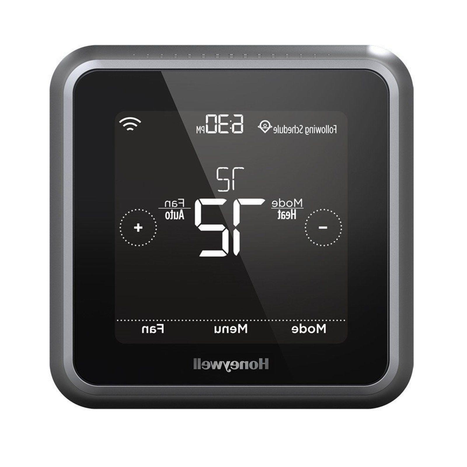 lyric t5 rcht8610wf programmable thermostat black