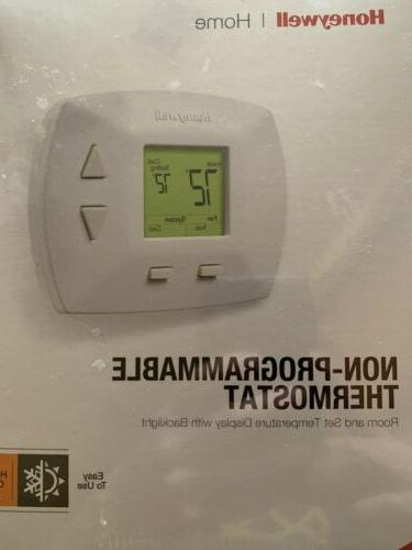 manual thermostat