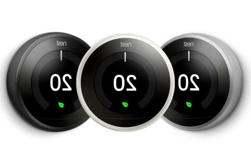 NEST Learning Thermostat 3rd Gen , Smart phone Wifi Bluetoot
