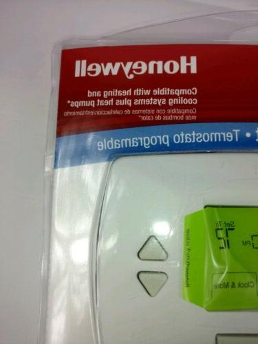 New Sealed Day Thermostat RTH7500D Backlit Display