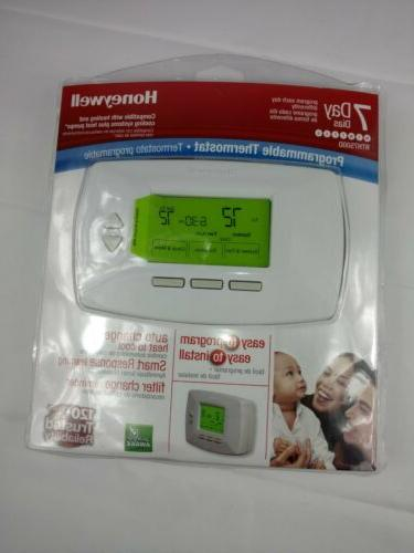 new sealed 7 day programmable home thermostat