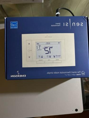 new sensi st55u smart home thermostat