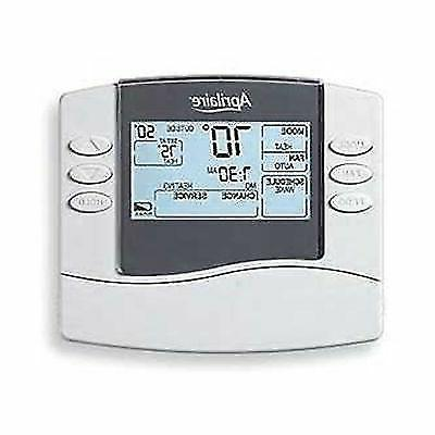 new thermostat programmable dual powered heat 1