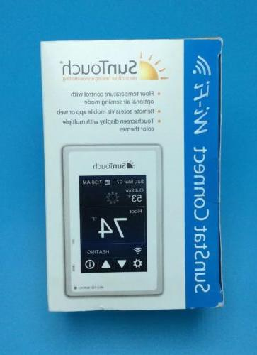 NEW SunTouch Wi-Fi Touchscreen Programmable Floor Thermostat