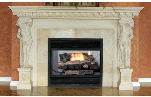 Emberglow 24 In. Vent-Free Propane Gas Fireplace Logs