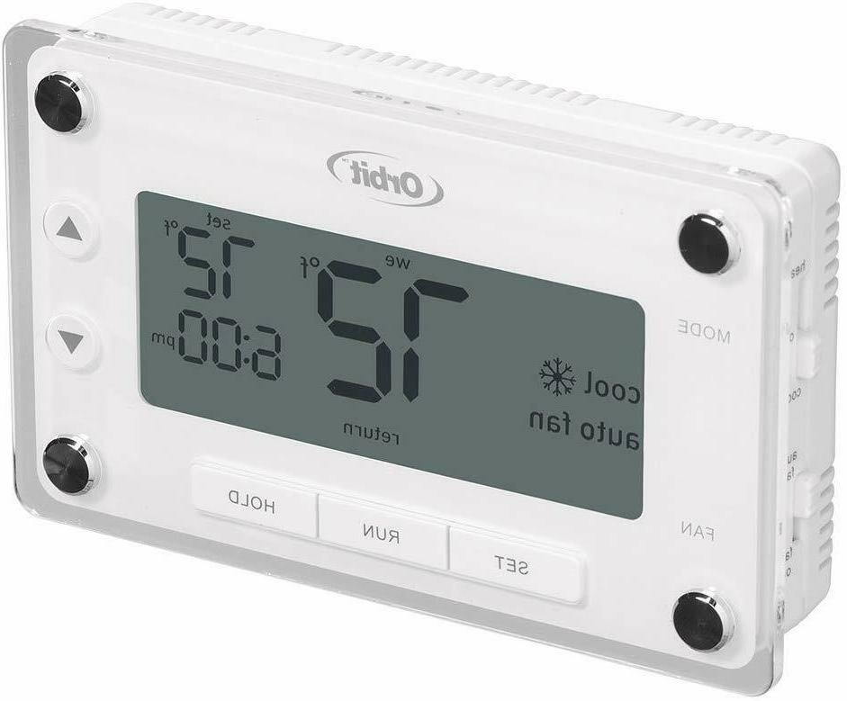 Orbit ProgrammableThermostat Large,Easy-to-Read Display