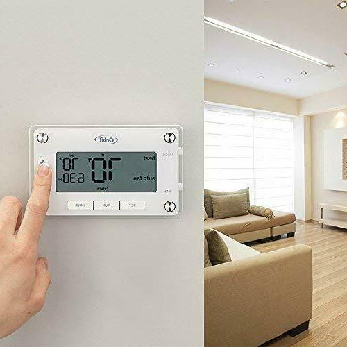 Orbit ProgrammableThermostat with Large,Easy-to-Read