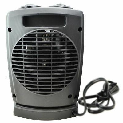 Oscillating Ceramic Heater Adjustable Thermostat