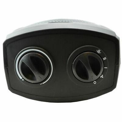Oscillating Ceramic Space Heater 1500 Adjustable Thermostat