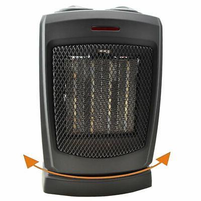 oscillating ceramic electric space heater 1500 watts