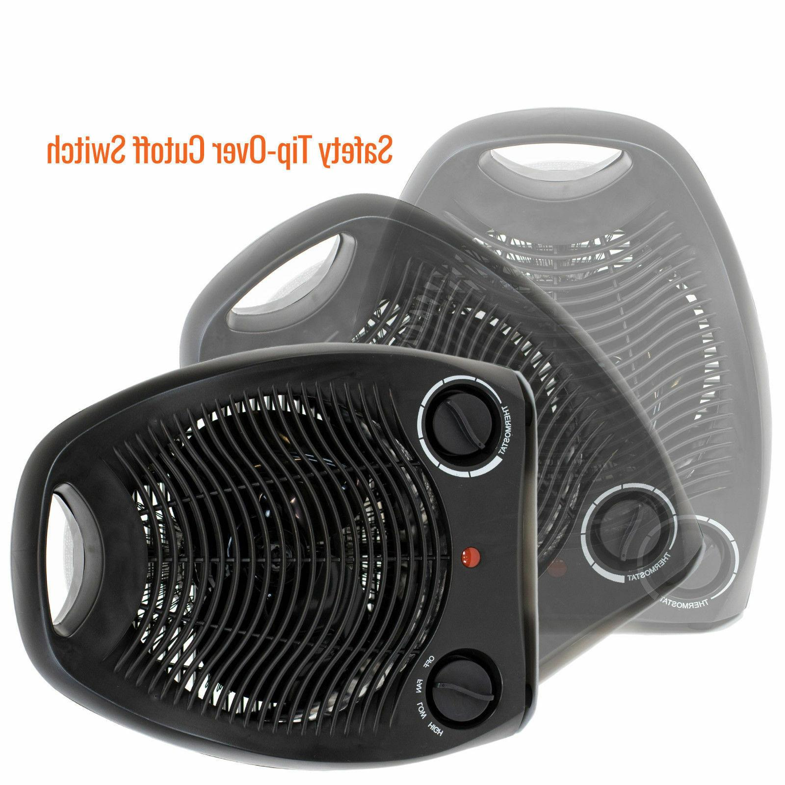 Portable Black Space Compact Quiet, Adjustable
