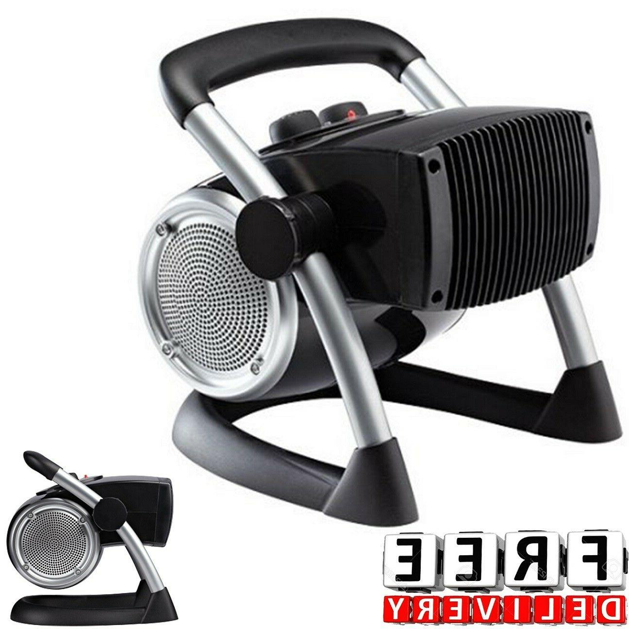 Portable Ceramic Electric 1500W Office Garage New
