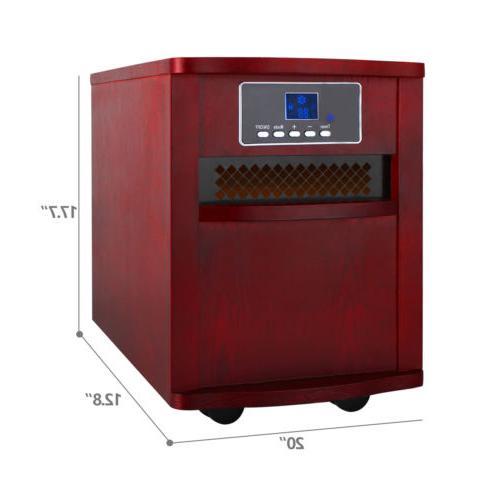Portable Electric Quartz 5200 BTUs w/Thermostat